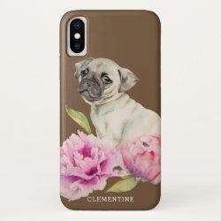 pug iphone 7 phone cases