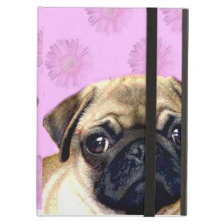 Pug dog iPad air covers