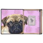 Pug dog iPad covers