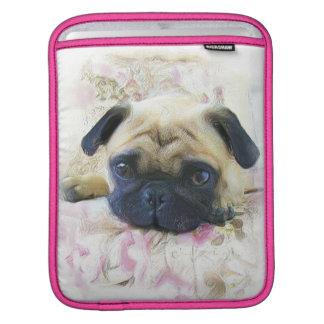 Pug dog iPad sleeve