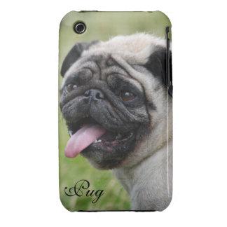 Pug dog iphone 3G case mate barely custom photo