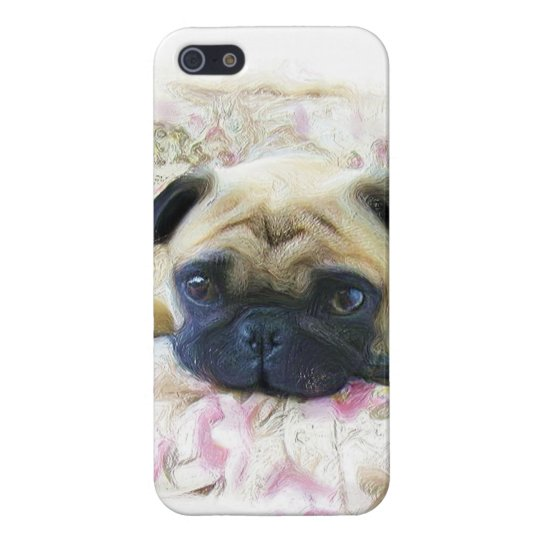 Pug Dog iPhone SE/5/5s Cover