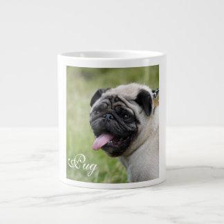 Pug dog jumbo mug custom cute photo