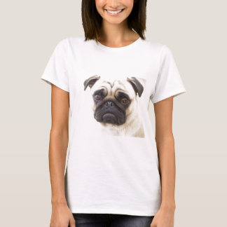 Pug Dog Ladies Fitted T-Shirt  T-Shirt