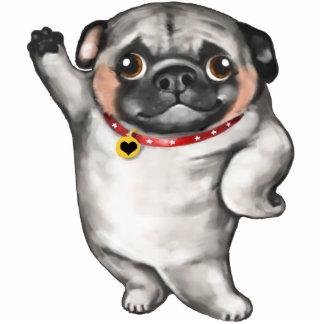Pug dog lovers magnet
