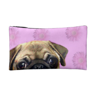 Pug Dog Makeup Bags