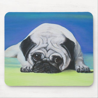 Pug Dog Mouse Pad