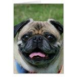 Pug Dog Notecard Greeting Cards