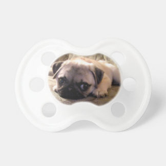 Pug Dog Pacifier