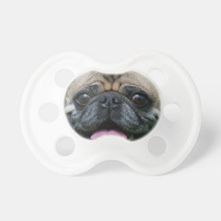 Pug Dog Pacifier