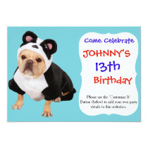 Pug dog - Pandog - funny dog Card