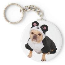 Pug dog - Pandog - funny dog Keychain