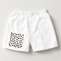 Pug dog pattern boxers