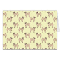 Pug Dog pattern boy
