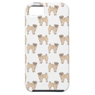 Pug Dog pattern boy iPhone SE/5/5s Case