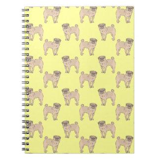 Pug Dog pattern boy Notebook