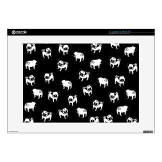 Pug dog pattern skin for laptop