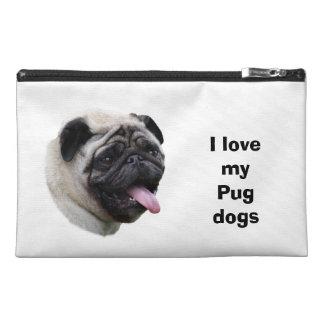 Pug dog pet photo portrait travel accessories bag