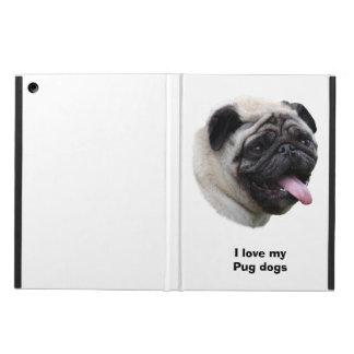 Pug dog pet photo portrait case for iPad air
