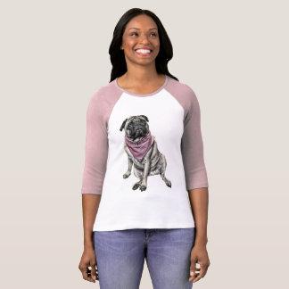 Pug Dog Picture Women's T-shirt