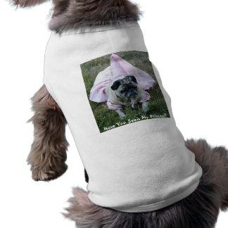 Pug Dog Princess Pet Clothing