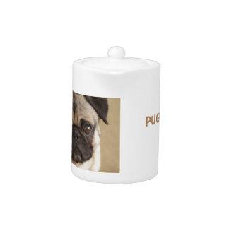 PUG DOG PUP TEAPOT