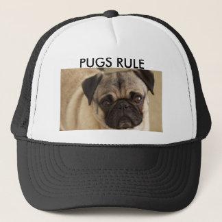 PUG DOG PUP TRUCKER HAT