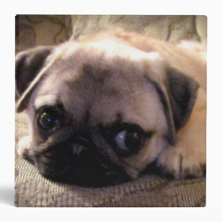 Pug Dog Puppy Binder