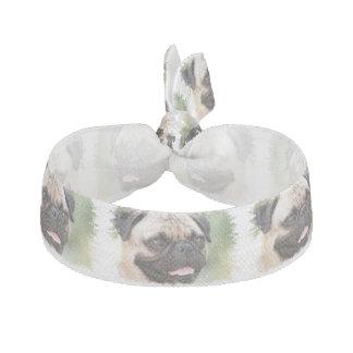 Pug Dog Hair Ties