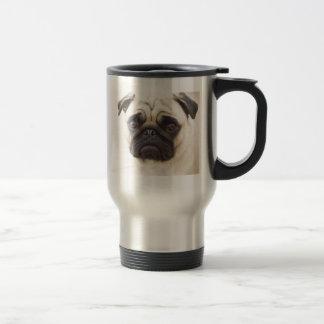 Pug Dog Stainless Travel Mug