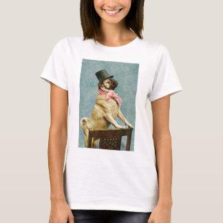 Pug Dog Vintage Stereoview T-Shirt