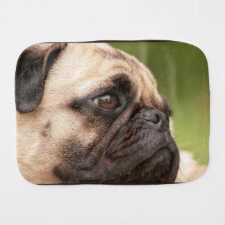 Pug Dog Burp Cloths