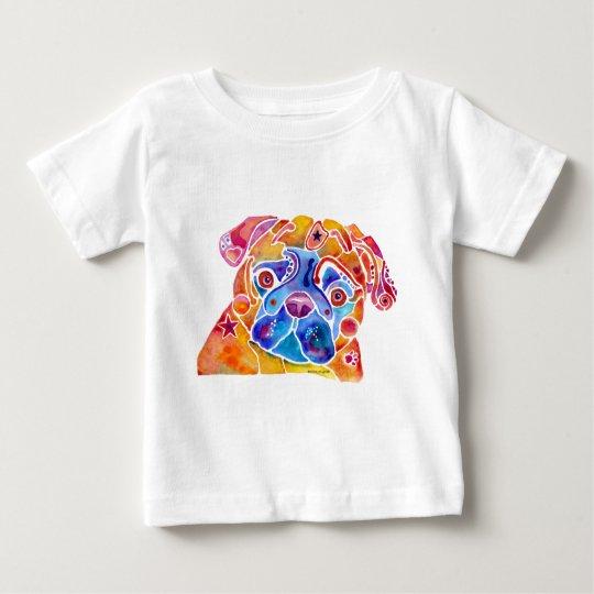 PUG DOGS, PUGS MUGS BABY T-Shirt