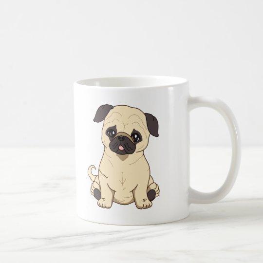 Pug Drawing By Pablo Fernandez Limited Edition Coffee Mug