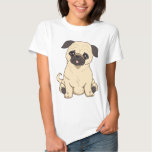 Pug Drawing By Pablo Fernandez Limited Edition Shirts