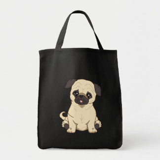 Pug Drawing By Pablo Fernandez Limited Edition Tote Bag