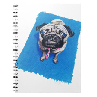 Pug Drawing Notebook