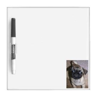 Pug Dry Erase Dry-Erase Board