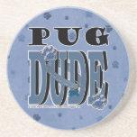 Pug DUDE Coaster