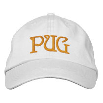 PUG EMBROIDERED BASEBALL CAP