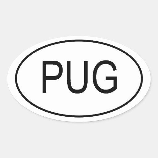 PUG Euro Sticker