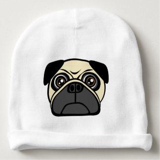 Pug Face Baby Beanie