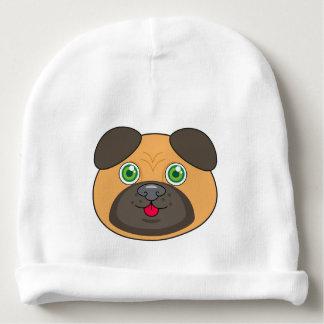 Pug Face Baby Cotton Beanie