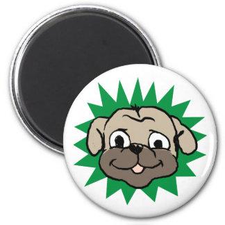 Pug face magnet
