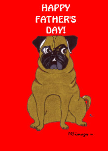 c4bc33397e8d5 Pug Fathers Day Gifts on Zazzle
