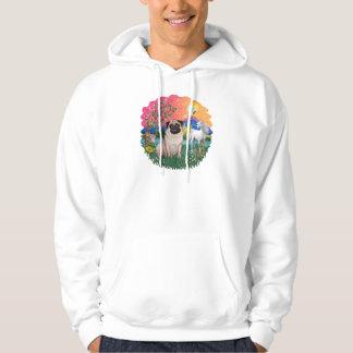 Pug (fawn 21) hoodie