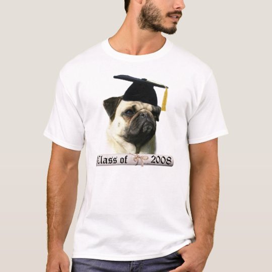 Pug fawn Grad08 T-Shirt