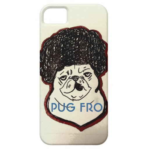 Pug Fro iPhone 5 Covers