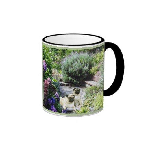 Pug Garden Mug