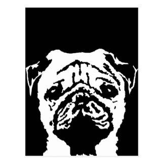 Pug Gifts - Postcard
